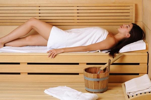 5 benefici sauna